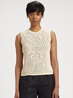Carven - Rope Sweater Tank