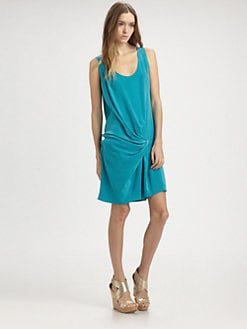 Thakoon Addition - Silk Hip Band Dress