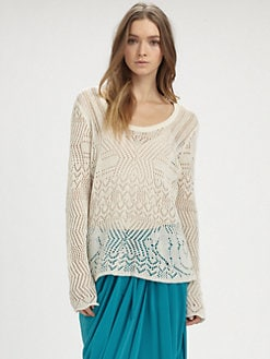 Thakoon Addition - Scoopneck Sweater