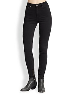 BLK DNM - Jeans 8 High-Rise Denim Leggings
