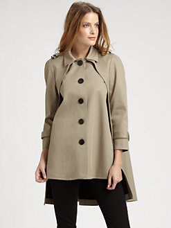Under.Ligne by Doo.Ri - A-Line Coat