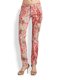 Haute Hippie - Printed Skinny Jeans