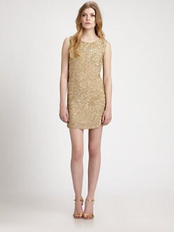 Haute Hippie - Silk Sequin Dress