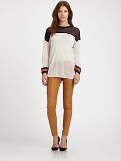 A.L.C. - Elsie Colorblock Sweater