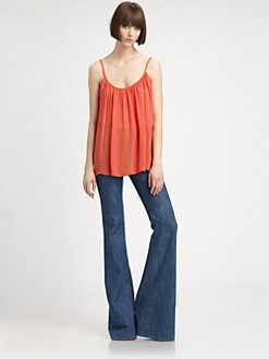 L'AGENCE - Shirred Camisole
