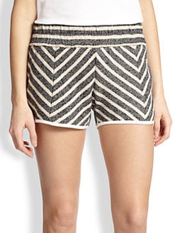 10 Crosby Derek Lam - Chevron Knit Shorts