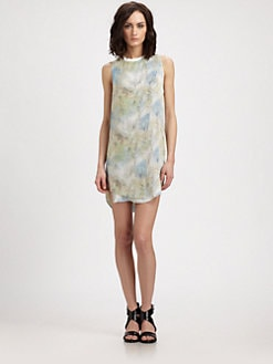 Theyskens' Theory - Itrey Sheer Derious Silk Dress