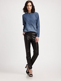 Theyskens' Theory - Wanfor Bype Ombre Chambray Shirt