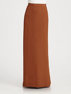 BLK DNM - Long Fishtail Skirt