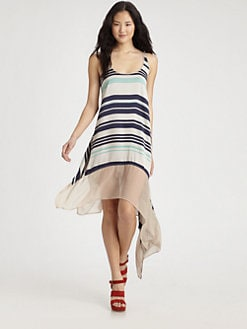 Elizabeth and James - Striped Adrienne Dress