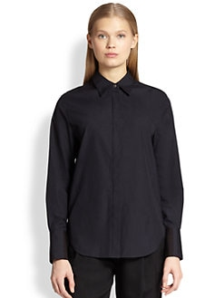 3.1 Phillip Lim - Cropped Shadow Shirt