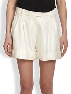3.1 Phillip Lim - Coated Tailored Shorts