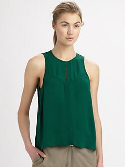 A.L.C. - Mia Silk Georgette Top