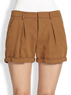 A.L.C. - Anette Linen/Cotton Shorts