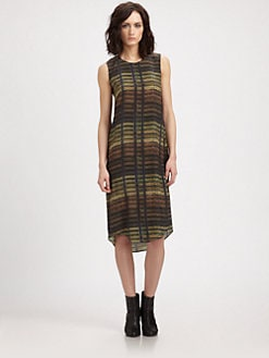 Theyskens' Theory - Iding Dritto Silk Dress