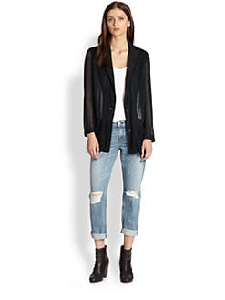 Rag & Bone - Zoe Mesh Jacket