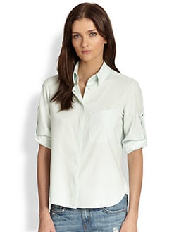 Rag & Bone - Boyd Stretch-Silk Shirt