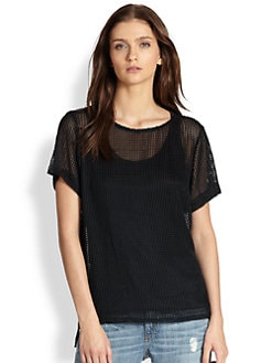Rag & Bone - Bettina Net Top