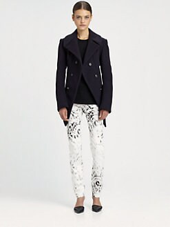McQ Alexander McQueen - Felt Peacoat