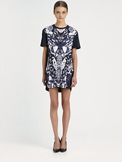 McQ Alexander McQueen - Printed T-Shirt Dress