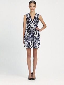 McQ Alexander McQueen - Kaleidoscope-Print Party Dress