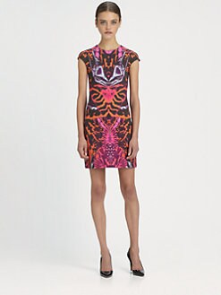 McQ Alexander McQueen - Kaleidoscope-Print Dress