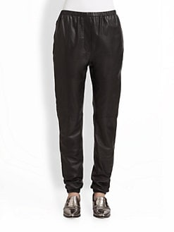 3.1 Phillip Lim - Leather Track Pants