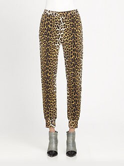 3.1 Phillip Lim - Leopard-Print Track Pants