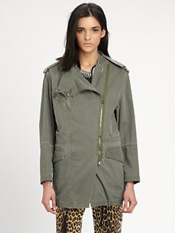 3.1 Phillip Lim - Convertible Rabbit Fur-Lined Parka