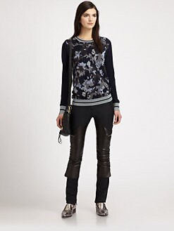 3.1 Phillip Lim - Wool-Blend Camouflage Sweater