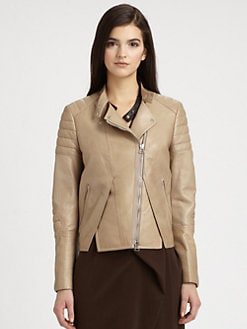 3.1 Phillip Lim - Paneled Leather Jacket