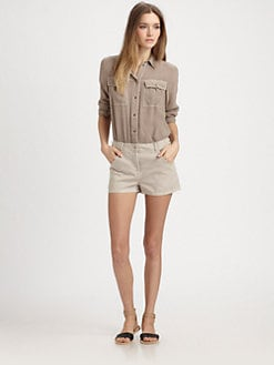 Elizabeth and James - Leo Cotton & Silk Short Jumpsuit