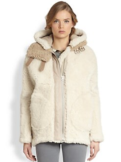 Acne - Velocite Reverse Shearling Jacket