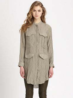 Acne - Stormy Cotton/Silk Shirt