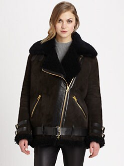 Acne - Velocite Shearling Jacket