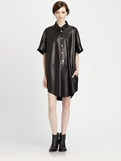 Acne - Marla Leather Dress