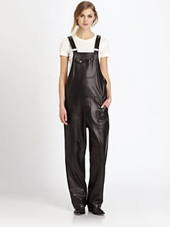 Acne - Chagall Leather Overalls