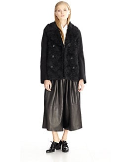 Acne - Edge Mohair & Cotton Peacoat