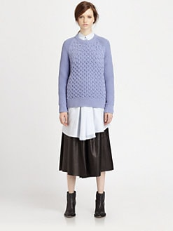 Acne - Ruth Air Cotton Sweater