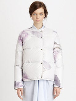 Acne - Sophia Print Puffer Jacket
