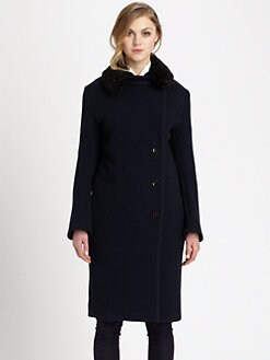 Acne - ERA Boiled Wool Coat