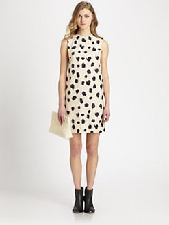 Acne - Palm Lynx-Print Dress