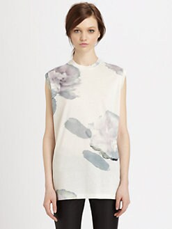 Acne - Zone Merci Print Top