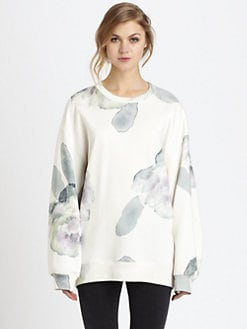 Acne - Beta Print Oversized Sweatshirt