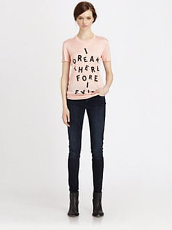 Acne - Bliss NY Print T-Shirt