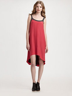 Rag & Bone - Beatriz Silk Hi-Low Dress