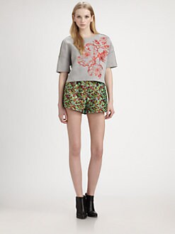 Elizabeth and James - Mira Embroidered Sweatshirt