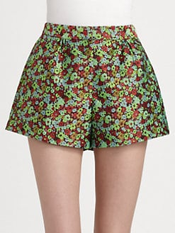 Elizabeth and James - Jody Floral Jacquard Shorts