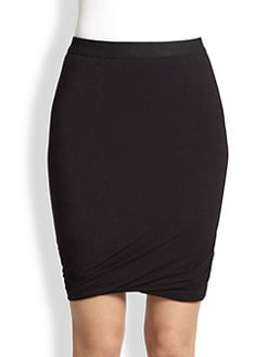 T by Alexander Wang - Knit Tulip-Hem Skirt