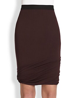 T by Alexander Wang - Knit Twist Skirt